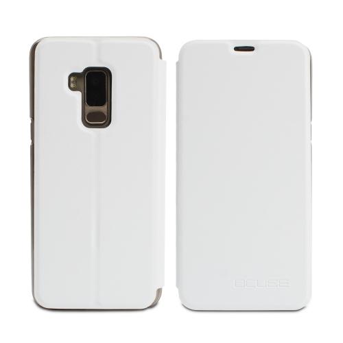 OCUBE Tampa de caixa de telefone de luxo para BLUBOO S8 Suave de couro PU Protetor de telefone Suporte de telefone Shell Anti-choque Proteção total