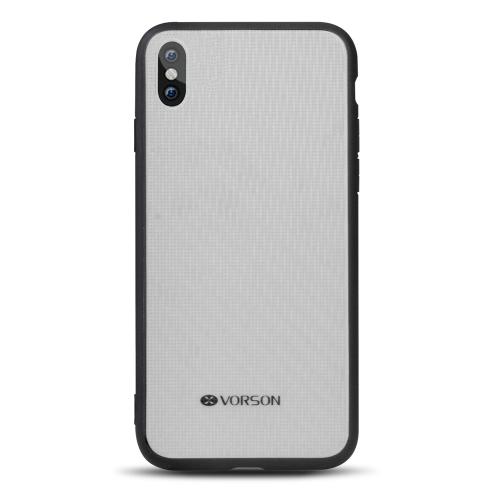 Caixa de telefone VORSON Bling para iPhone X Proteção de proteção integral Proteção anti-choque durável Shell de telefone