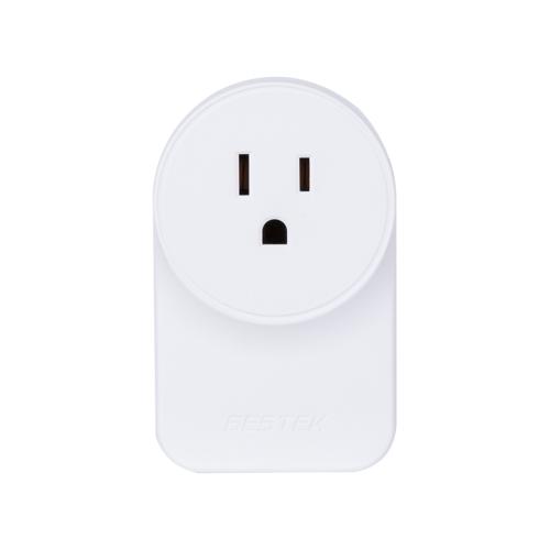 BESTEK MRJ1011 Wifi Smart Plug Kompatybilny z Alexa i Google Home Moduł automatyki Bezprzewodowy pilot zdalnego sterowania Przełącznik światła Wifi Inteligentne gniazdo dla iOS Android Smartphone