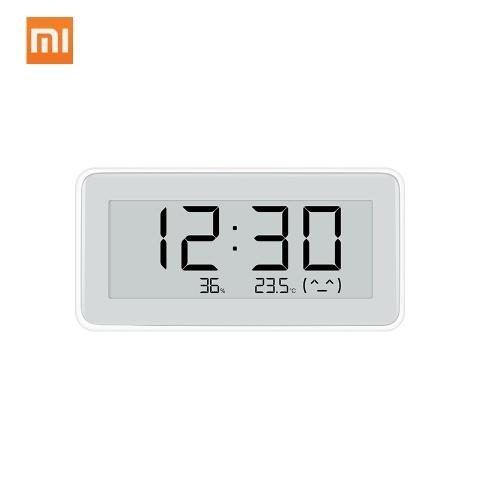 Original Xiaomi Mi Multifunctional Digital Clock Electronic-INK Screen Temperature Humidity Sensor