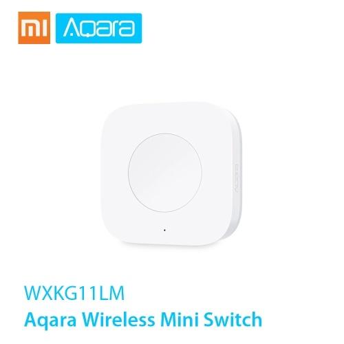 Xiaomi Aqara Беспроводной мини-переключатель Zigbee System Пульт дистанционного управления Использование с Xiaomi Gateway Aqara Air Condictioner Partner