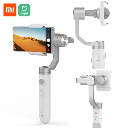 Xiaomi Mijia Handheld Gimbal Stabilizer 3 Axis Smartphone Gimbal 5000mAh Battery For Action Camera Cellphone SJYT01FM