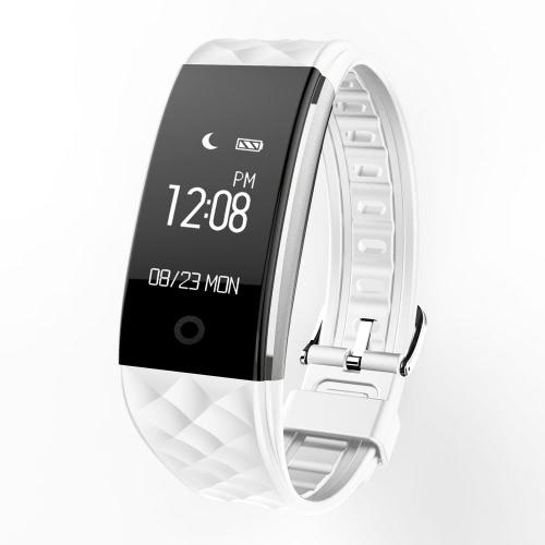 S2 Heart Rate inteligente Bluetooth Sport Watch Pulseira Pulseira 0,96