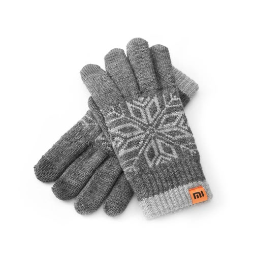 Original Xiaomi Finger Screen Touch Gloves Winter Warm Wool Gloves Man Use for iPhone 6S Xiaomi Touch Screen Phone Tablet Cash Machine