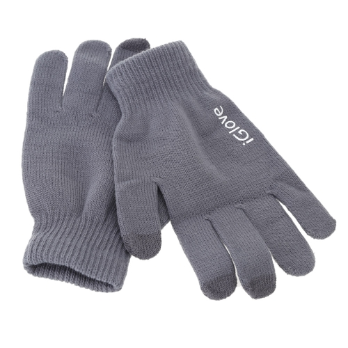 Fashion Finger Screen Touch Gloves Warm Winter Knitted Glove Free Size Mittens for Mobile Phone Tablet Pad Cash Machine