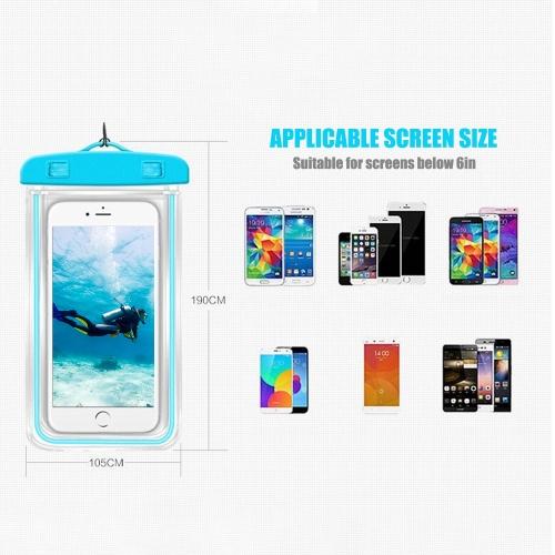 Universal Waterprooof Smart Phone Bag Cellphone Dry Bags for All Phones фото