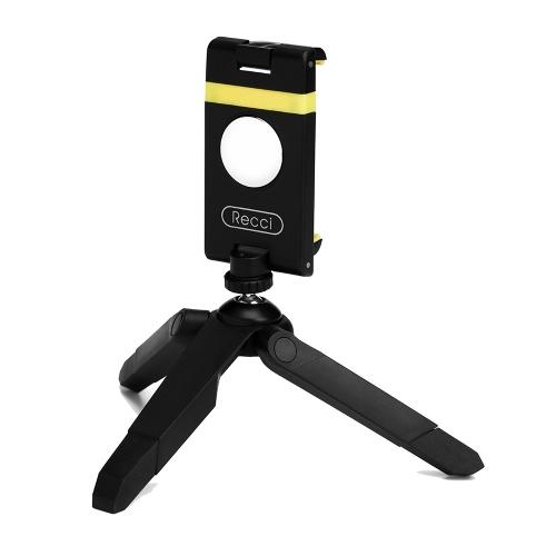 Recci ENJOY RAM-A01 Téléphone Support 360 ° Rotation Trépied Téléphone portable Soutien