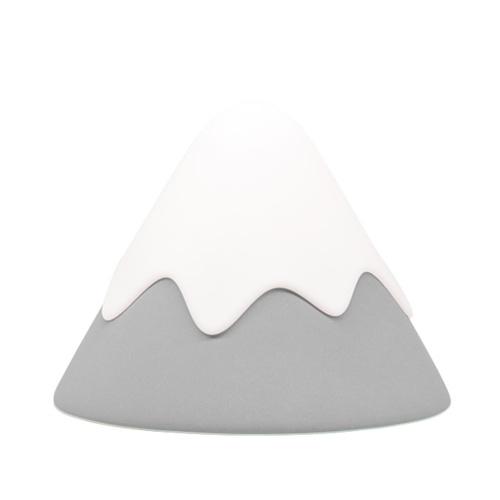Silicone Snow Mountain Night Light Tap Control 30/60 Min Timer Setting 2 Brightness Levels Eye Caring Baby Nursing Lamp Decor