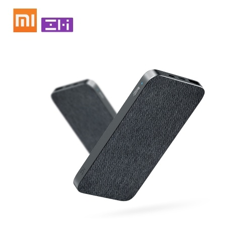 Banco rápido de duas vias do poder da carga do banco do poder de Xiaomi ZMI 10000mAh