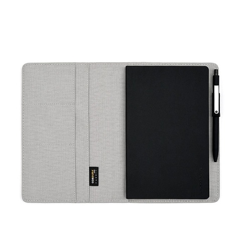 Xiaomi Mijia Kaco Noble Paper NoteBook PU Leather Card Slot Wallet Book Diary Pad with a Sign Pen Gift for Business Office Travel Meeting School