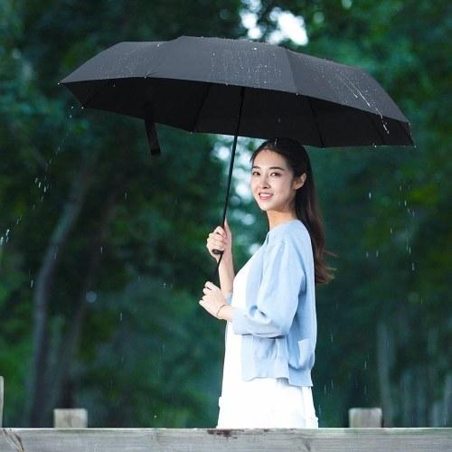 Xiaomi Mijia Автоматический Зонт Складной Портативный Солнечный Дождливый Алюминий Ветрозащитный УФ-доказательство Домашнего Использования Семейный Зонт 124 см для Детей, Мужчин, Женщин