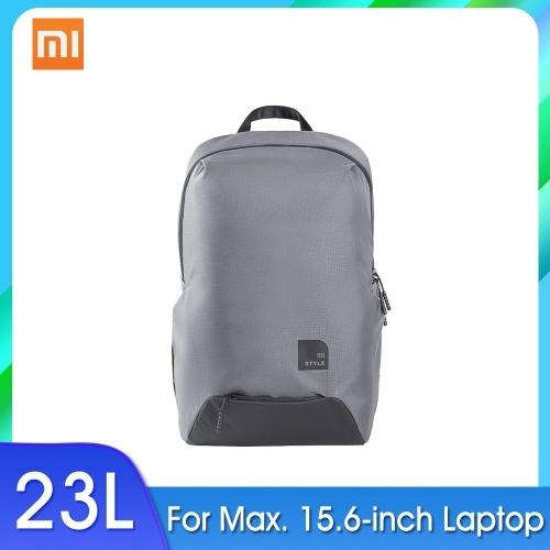 Xiaomi Sports Backpack Leisure Shoulder Bag Business Travel Bag Students Laptop Bag Men Women Unisex Rucksack 23L Capacity For 15.6inch Max Laptop