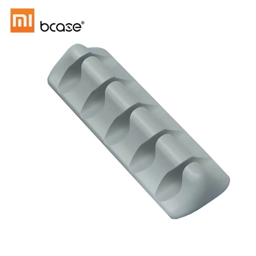 Xiaomi Bcase Line Organizer Cable de silicona Storage Winder Desktop Wall Cable Holder con ranura para cable
