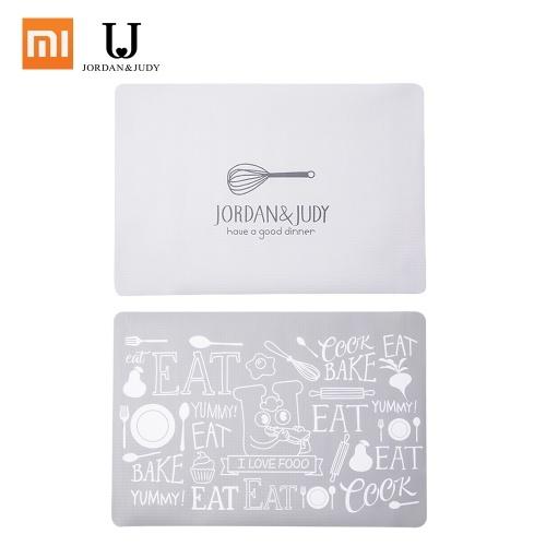 Xiaomi Youpin Jordan Judy Food Placemat Table Protection Pad Impermeable antideslizante PP Alta temperatura Aislante Pad Plegable Lavable A prueba de humedad