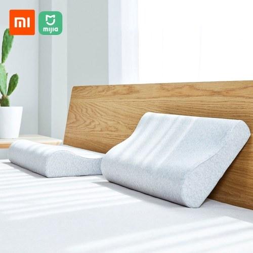 Xiaomi Mijia Антибактериальная защита для шеи Подушка от боли в шее Хлопковая подушка с памятью Дышащий для сна Релаксационные подушки Регулируемая подушка для шеи Боковая спальная подушка для шеи и плеча