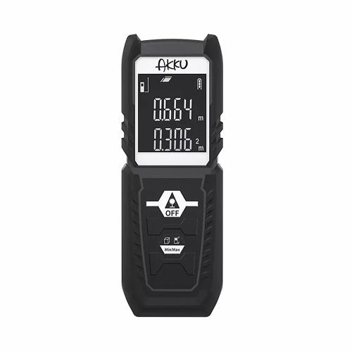 Xiaomi Youpin AKKU Handheld Laser Rangefinder Distance Area Measure Diastimeter Ranging Tool Digital Meter Electronic Ruler Measure Range Finder 164ft 50m