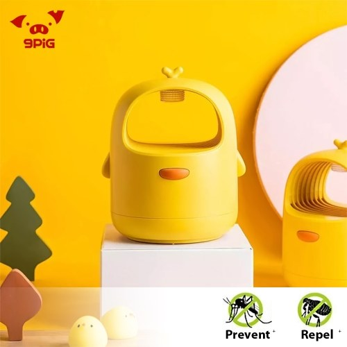 Xiaomi Youpin 9PiG Mosquito Repellent Lamp Noiseless Physical Mosquito Killer Soft UV Light 3D Bionic Allure Mosquito Insect for Kids Baby Home