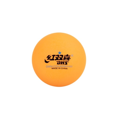 DHS 1 Star D40+ Table Tennis Balls Seamed New Material ABS D40+ Ping Pong Balls Plastic Ping Pong Balls