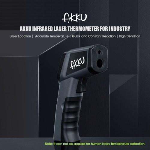 Youpin AKKU Infrared Thermometer for Industry Laser Temperature Detection Gun LCD HD Display - 50~380℃ Handheld Digital Temperature Meter Gun
