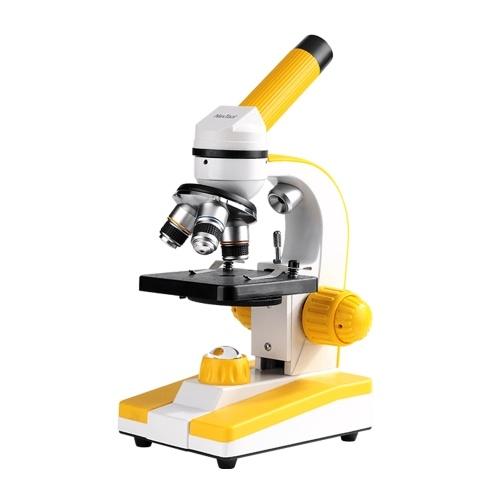 NexTool NE20039 High Definition Optisches Mikroskop 1280x Monokulares Biologisches Mikroskop-Set