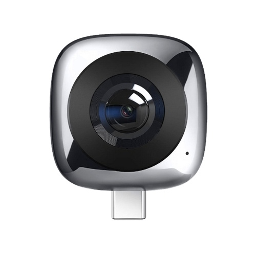 HUAWEI CV60 Standard Edition Panoramic Camera Lens 360° 5K Photos & 2K Full HD Videos Dual 13MP 210° Wide-Angle Lens GIF Fisheye VR Multiple Modes One-Click Sharing Mobile Phone External Camera Lens for Android 6.0 and above