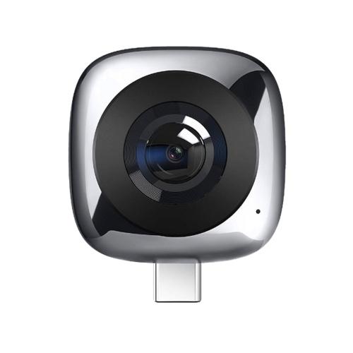 Lente de cámara panorámica HUAWEI CV60 Edición estándar Fotos de 360 ° 5K y videos Full HD de 2K Lente gran angular de 13MP 210 ° GIF Modos múltiples de Fisheye VR de un solo clic Lente de cámara externa para teléfono móvil para Android 6.0 y superior
