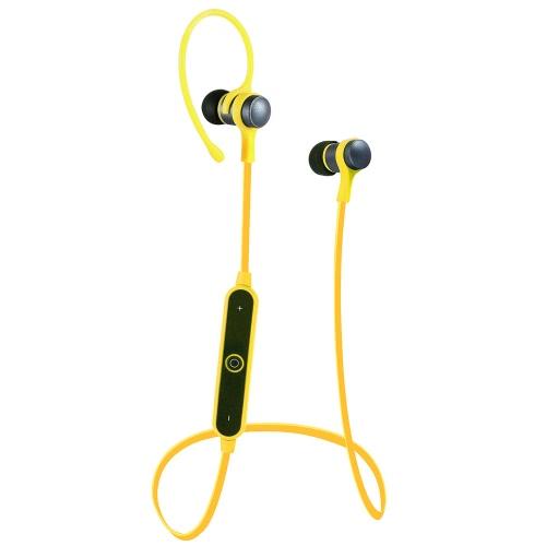 S6-1 fone de ouvido estéreo desportivo portátil BT fone de ouvido estéreo EDR V4.1 HD forte com microfone embutido para iPhone 7 6S Plus Samsung HTC Huawei Smartphones