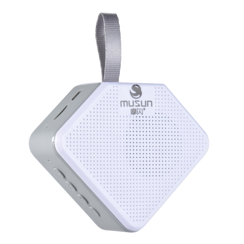 Musun B011 Alto-falante sem fio BT Som de alta qualidade Controle de botão de alto-falante portátil Chamada mãos-livres