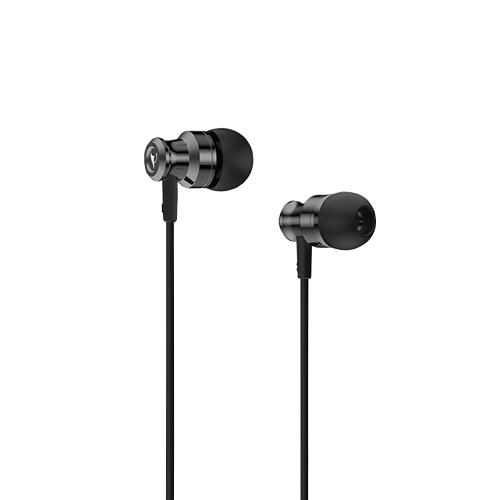 V9S BAYASOLO fone de ouvido estéreo estéreo fone de ouvido estéreo fone de ouvido de 3,5 mm fone de ouvido com fio Controle de volume fone de ouvido mãos-livres para smartphones