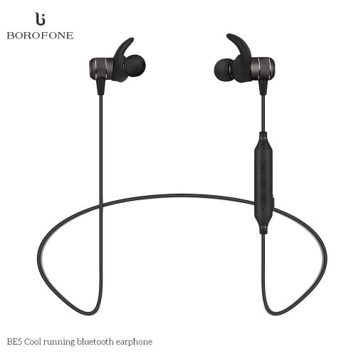 Bezprzewodowe słuchawki sportowe BOROFONE BE5