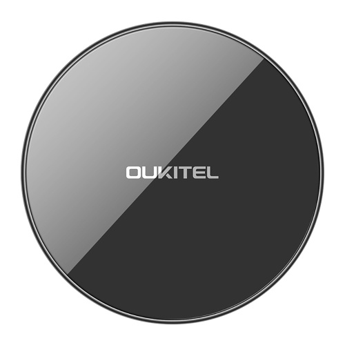 OUKITEL S1 5mm Ultra-thin 10W Qi Wireless Phone Fast Charger for iPhone X 8 Samsung Galaxy S8 Note 8 S9 Plus Wirless Charging Pad