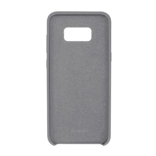 Docooler original Estilo Liquid Silicone Phone Case Soft Hand-feeling Protector Phone Back Case Tampa Shell para Samsung Galaxy S8