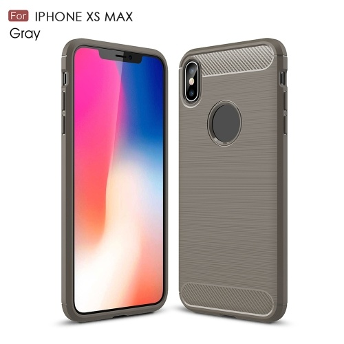Telefon-Abdeckung für iPhone XS Max-Telefon-Kasten-schützende Shell-dünner weicher dauerhafter Anti-Kratzer Anti-Fingerabdruck Anti-schweiß Schlag-Widerstand Telefon Shell