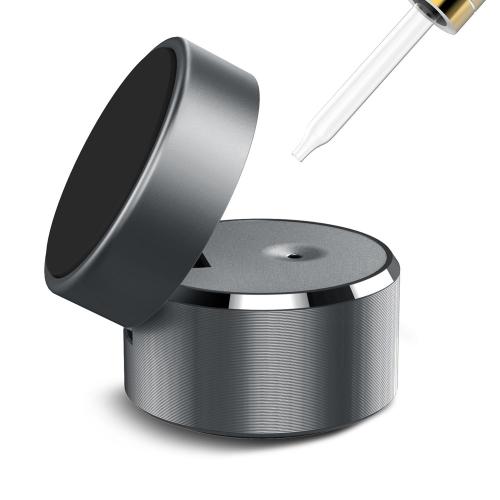 Perfume Car Mount Holder Liga de alumínio Strong Magnetism Stand de telefone magnético para Smartphone Tablet