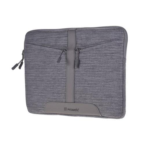 Prowell NB53290 сумка для планшета 13-дюймовый чехол для планшета с застежкой-молнией Мягкая деловая сумка Мода Портативный чехол для планшета с передним карманным портфелем для iPad Samsung Xiaomi фото