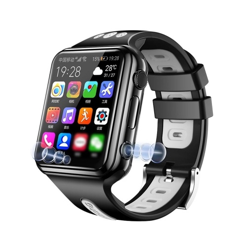 W5 4G Smart Watch (SIM Card) 1G+8G Memory 2.0MP+2.0MP Dual Camera