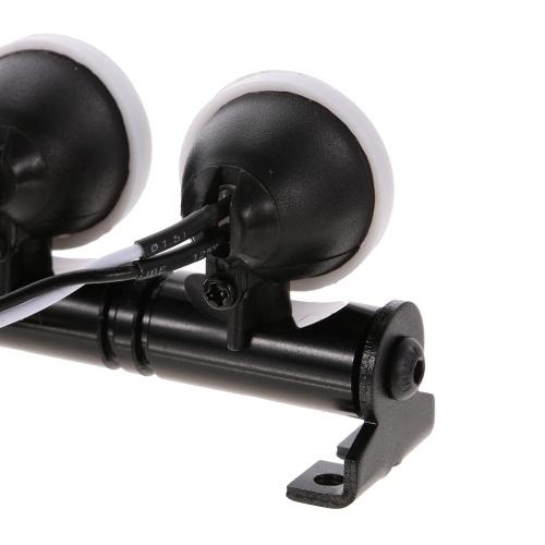 RC Автомобильный круглый светодиодный светильник и обложка для 1/10 RC Crawler Axial SCX10 D90 110 Traxxas TRX-4 Tamiya HSP RC Автозапчасти фото