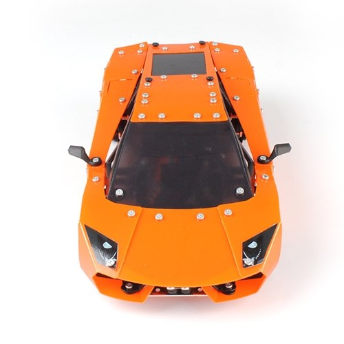SW(RC)-001 580Pcs DIY Building Blocks Car 1/16 2.4G Stainless Steel Construction RC Car Image