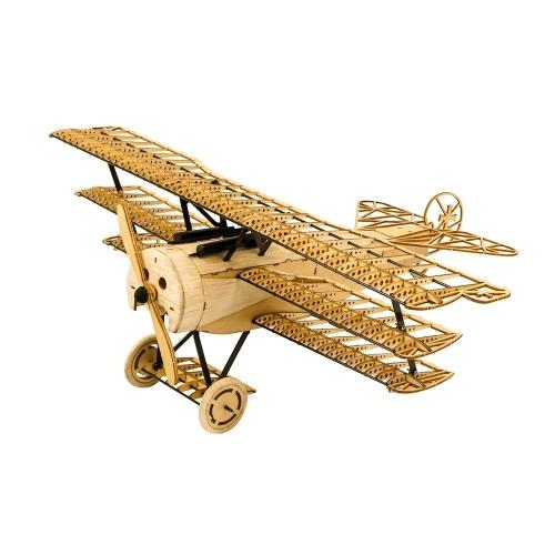 Asas de dança Hobby VX11 1/18 Fokker DRI madeira modelo de avião estático