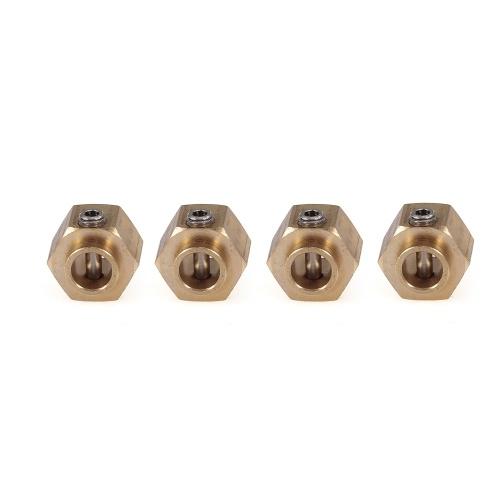4PCS 8.5MM Stärke Hex Rad Naben Hexagonal Adapter