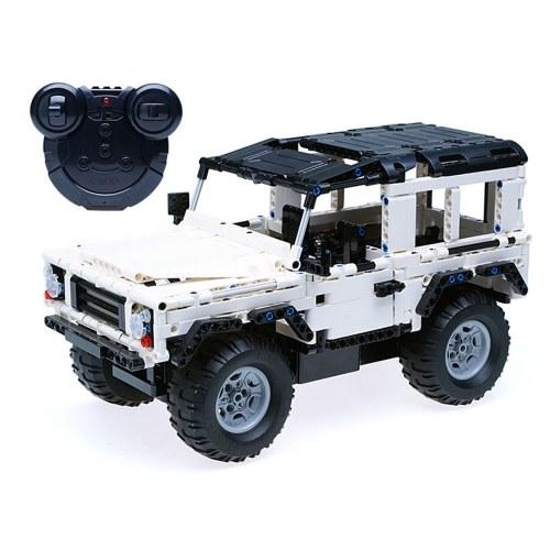 DOUBLE E C51004 533pcs Blocs de Construction Briques RC Off Road Car Kits de bricolage