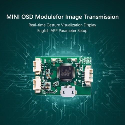 Radiolink Mini Módulo OSD para transmisión de imágenes Mini PIX Pixhawk Flight Controller Board RC Racing FPV Drone