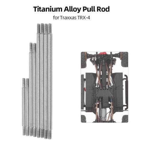 Barra de tracción de aleación de titanio 8pcs