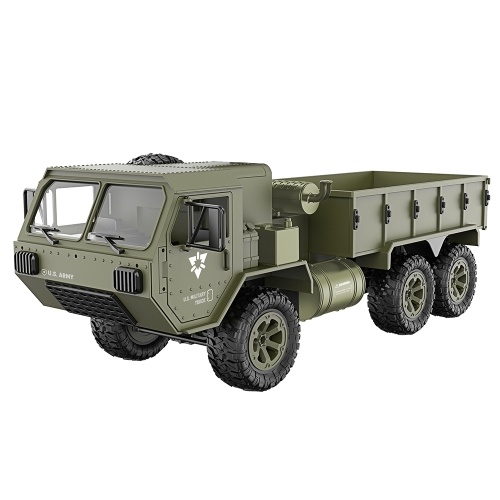 Fayee 1/12 RC 6WD 2.4GHz Military Truck Image