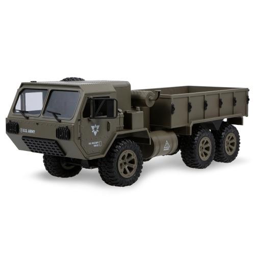 Caminhão militar de Fayee 1/12 RC 6WD 2.4GHz