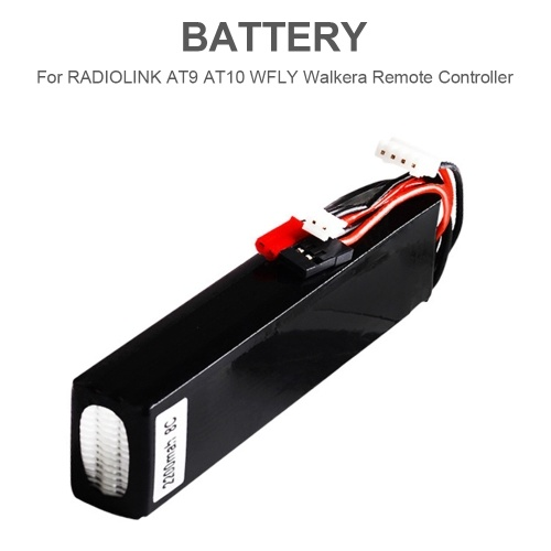 11.1V 2200mAh 8C Lipo Battery for RADIOLINK AT9 AT10 WFLY Walkera FLYSKY TH9X Remote Controller