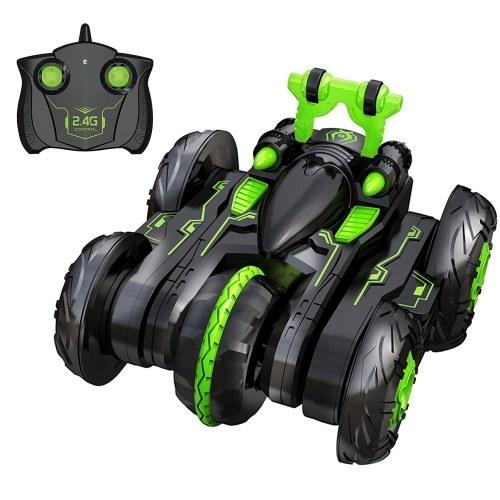 2.4Ghz RC Stunt Car 3D Rotating Drift Stunt Car Climbing Drift Deformation Buggy Car Flip Kids Robot Electric Boy Toys