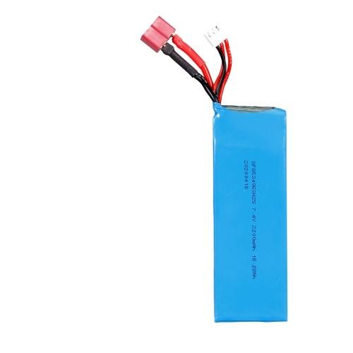 Batería de litio de 7.4V 2200mAh para WLtoys XKS 144001 1/14 RC Car
