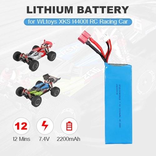 7.4V 2200mAh Lithium Battery for WLtoys XKS 144001 1/14 RC Car