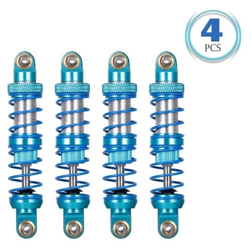 Amortisseur d'amortisseur en métal de 100mm pour chenille de camion de voiture RC Compatible avec la voiture RC TRX-4 Axial SCX RC4WD D90 / D110